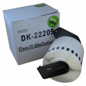 BROTHER P Touch DK Serisi DK22205 Sürekli Etiket 62mm 30 48M